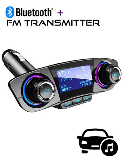 ALX-A21 multifunctional Bluetooth FM Transmitter car charger