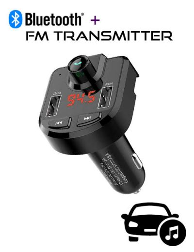 ALX-A2 Bluetooth FM Transmitter car charger
