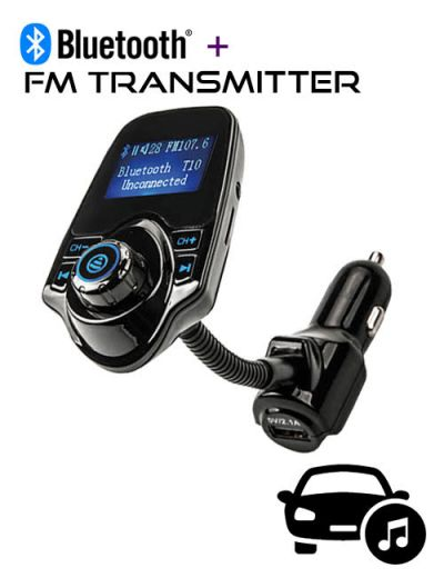 ALX-A7 Bluetooth FM Transmitter car charger