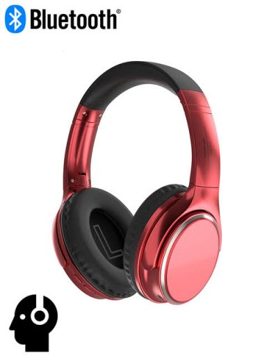 ALX-VJ901 Over-ear Bluetooth headphone noise cancelling Red