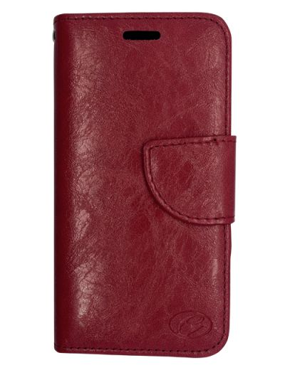 Premium Burgundy Wallet case for iPhone XS Max