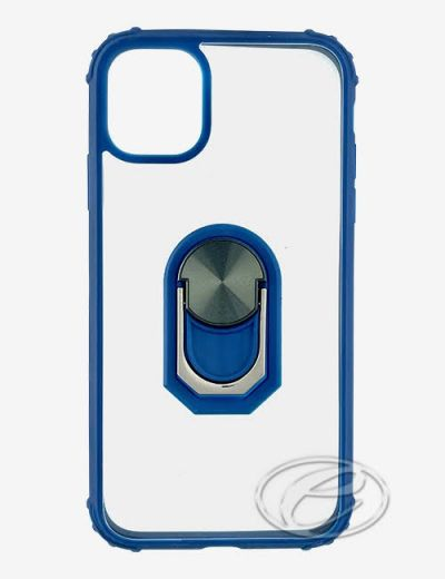 """iPhone 12/12 Pro 6.1"""" Blue ring case"""