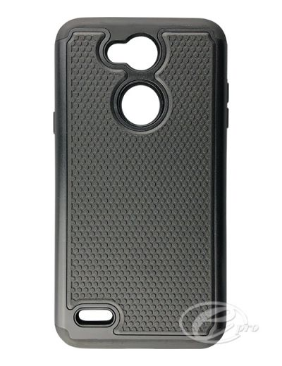 LG X Power 3 Black Duo protector case