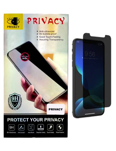 Privacy tempered glass for iPhone 12 / 12 Pro