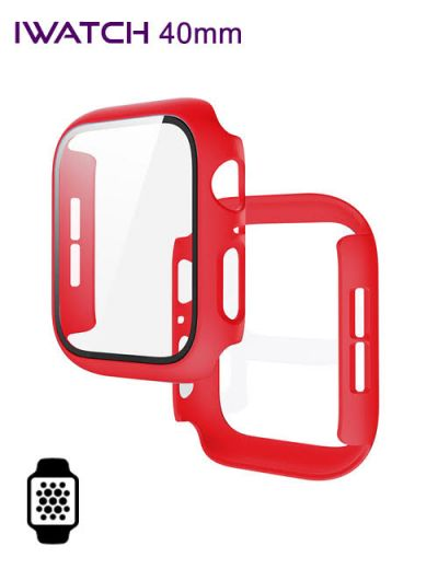 Apple watch protector 40mm Red
