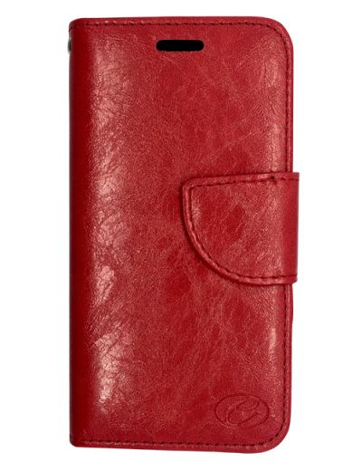 Premium Red Wallet case for Huawei P10 Lite