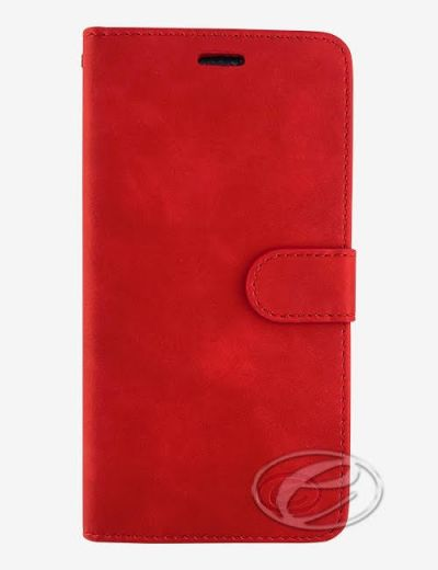 Premium Red Wallet case for Huawei P30 Lite