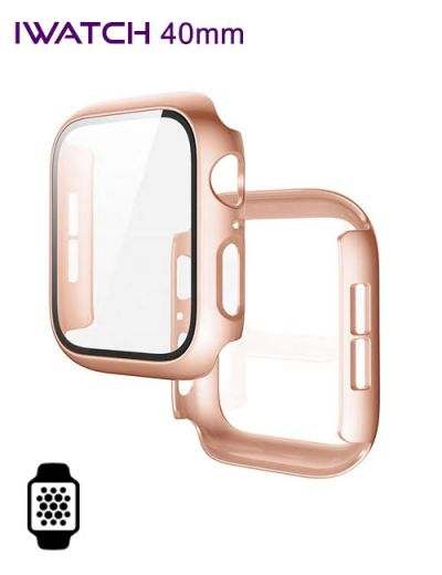 Apple watch protector 40mm Rose Gold