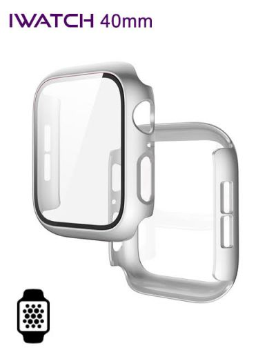 Apple watch protector 40mm Silver