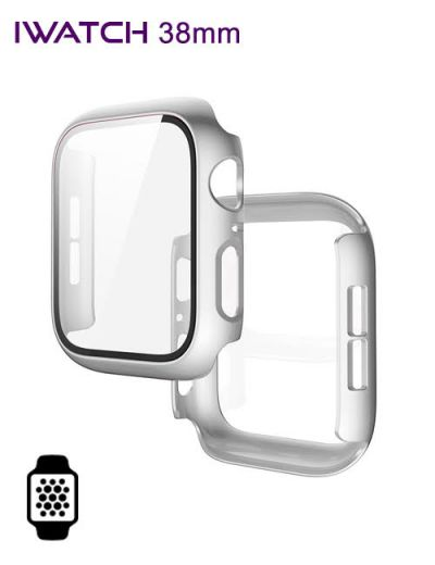 Apple watch protector 38mm Silver