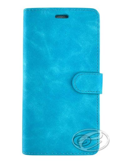 Premium Turquoise Wallet case for Samsung A71