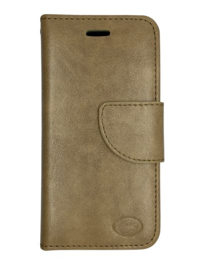 Premium Beige Wallet case for Samsung S6 Edge
