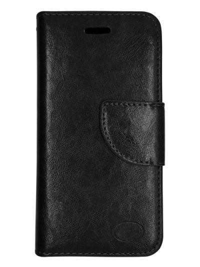 Premium Black Wallet case for Moto G6
