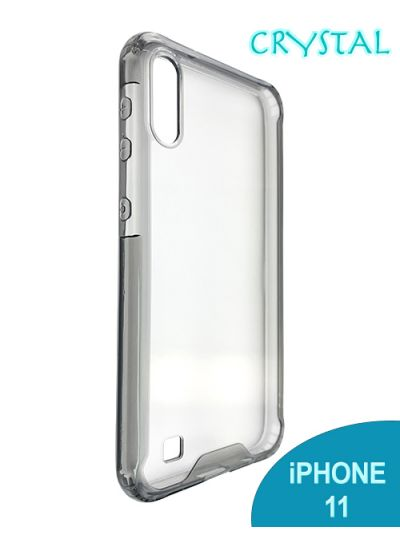 iPhone 11 Clear Crystal case Black contour