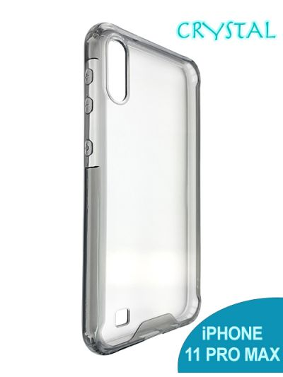 iPhone 11 Pro Max Crystal case Black contour
