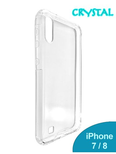 iPhone 7/8 Clear Crystal case