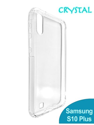 Samsung S10 Plus Clear Crystal case