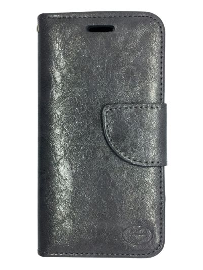 Premium Grey Wallet case for Huawei GR5
