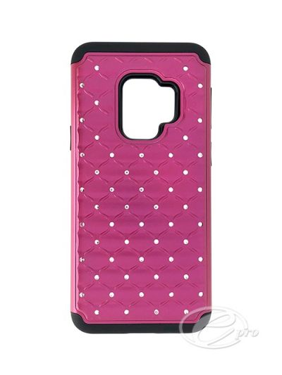 Samsung A8 Pink Bling case