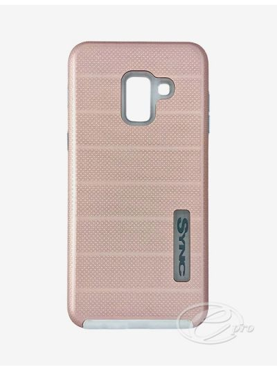 Samsung A8 Rose Gold SYNC case