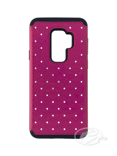 Samsung S9 Plus Pink Bling case