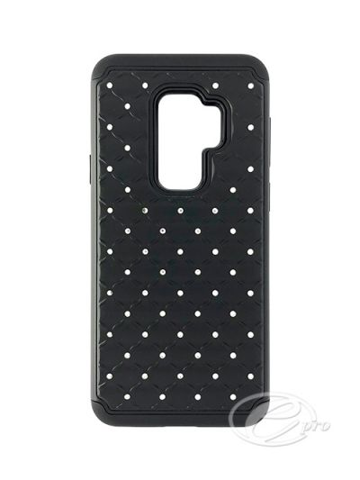 Samsung S9 Plus Black Bling case