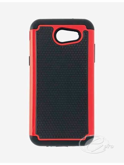 Samsung J3 Prime Red Duo protector case