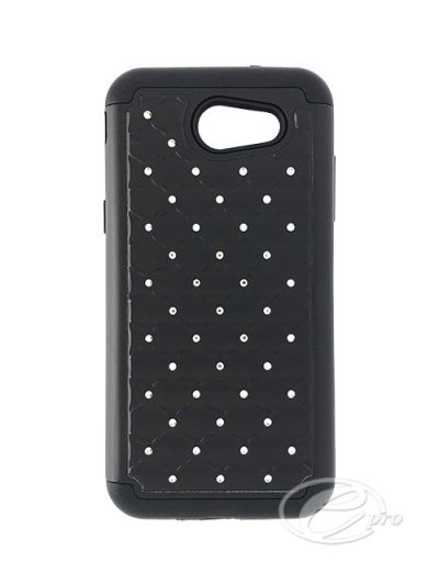 Samsung J3 Prime Black Bling case
