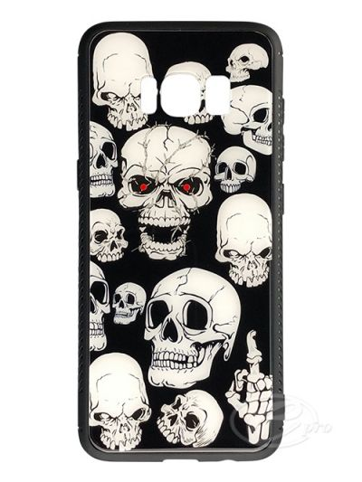 Samsung S8 Skeleton Glaze case