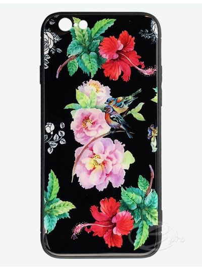 iPhone 6/6S Flower/Bird Glaze case