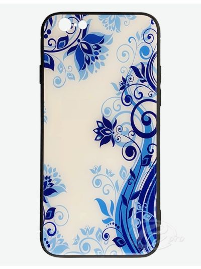 iPhone 6/6S Blue Flower Glaze case
