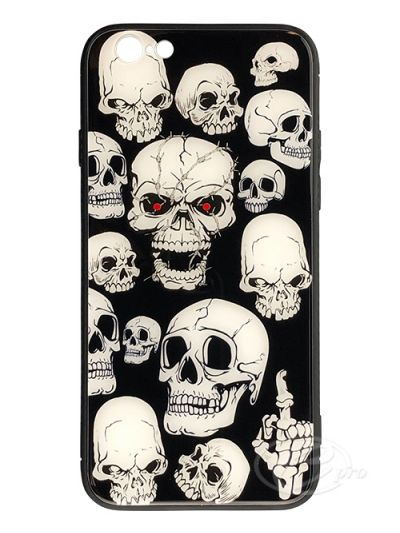 iPhone 6/6S Skeleton Glaze case