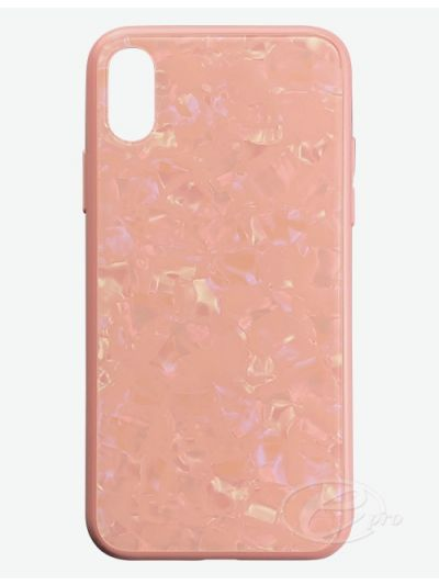 iPhone X/XS Pink Clam Case