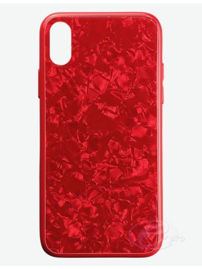iPhone X/XS Red Clam Case