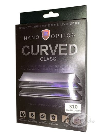 Full curved UV Tempered Glass for Samsung S10
