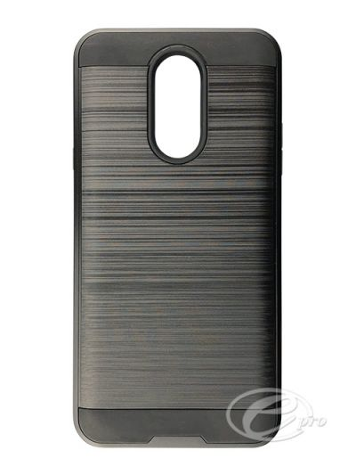 LG Stylo Q Plus Black Fusion case