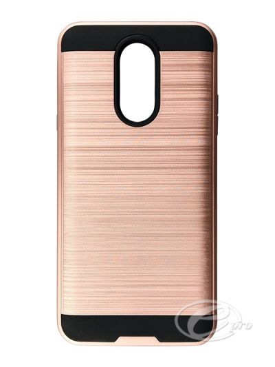 LG Stylo Q Plus Rose Gold Fusion case