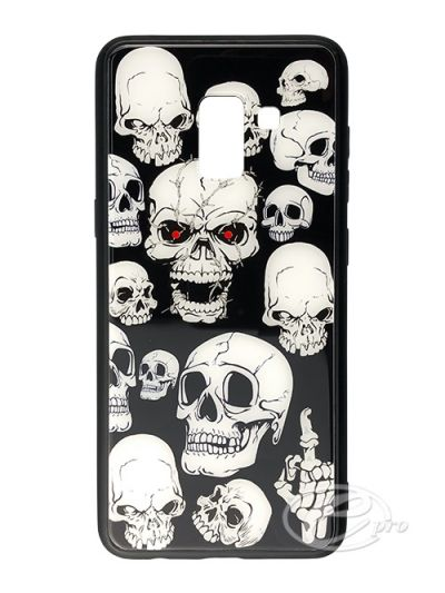 Samsung A8 Skeleton Glaze case