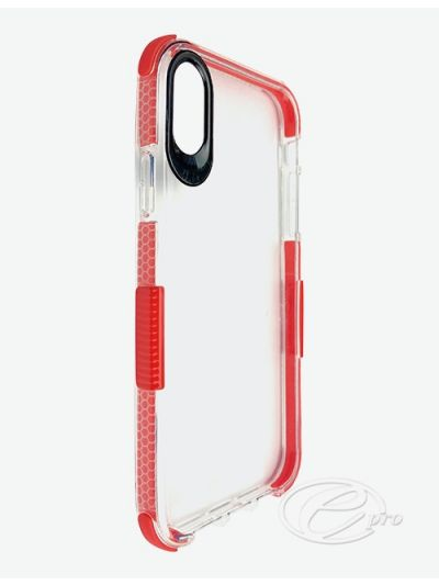 iPhone XS Max Red Flex Gel case