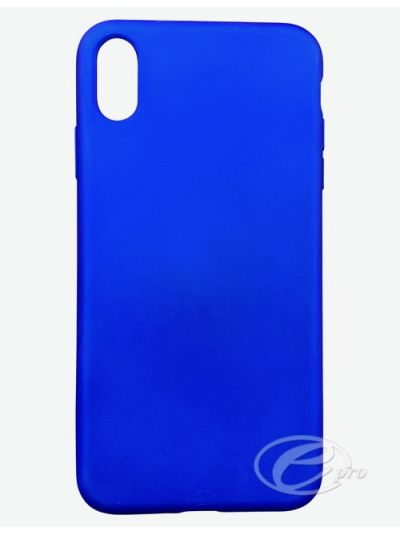 iPhone XS Max Blue TPU case