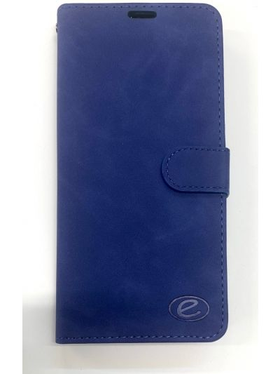 Premium Blue Wallet case for Samsung A8
