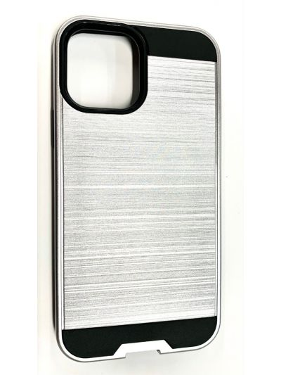 iPhone 11 Pro Max Silver Fusion case
