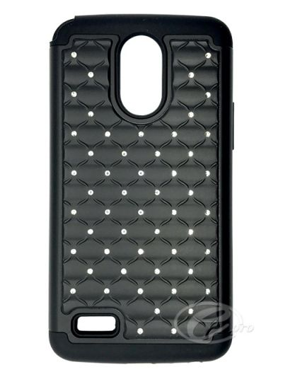 LG Stylo 3 Plus Black Bling case