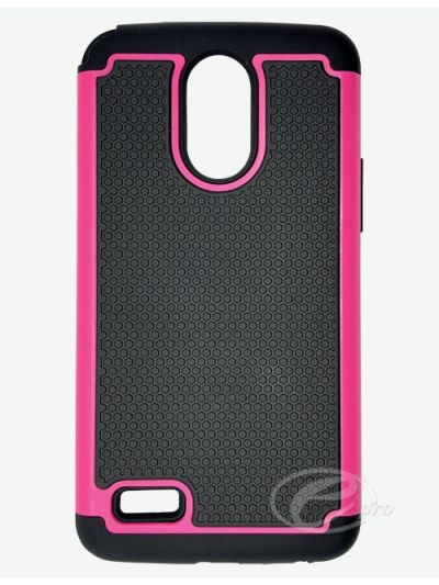 LG Stylo 3 Plus Pink Duo protector case