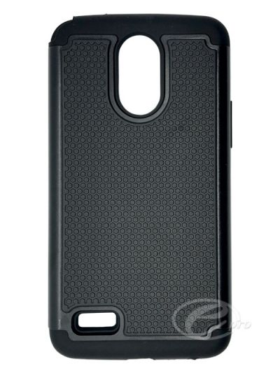 LG Stylo 3 Plus Black Duo protector case
