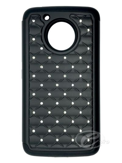 Moto G5 Black Bling case