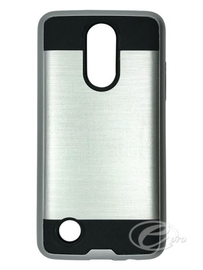 LG K9 (Fits K4 2017) Silver Fusion case