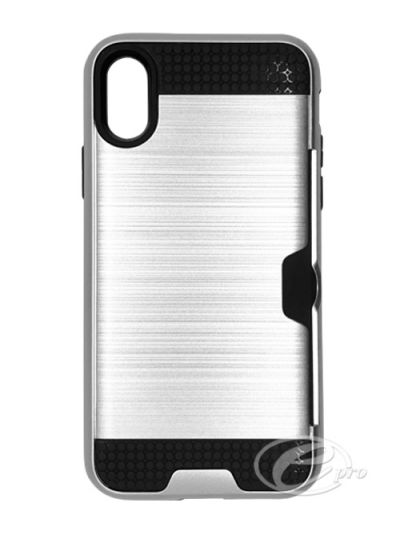 iPhone XS Max Silver Nova case
