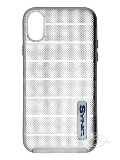 iPhone XS Max Silver SYNC case