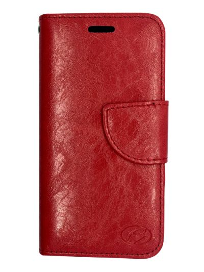 Premium Red Wallet case for Samsung Note 5